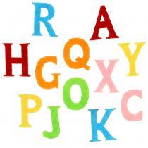 Lettere in feltro colori assortiti 2,5cm - 3cm 150pcs