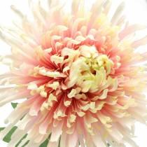 Ramo di fiori di crisantemo rosa artificiale 64 cm