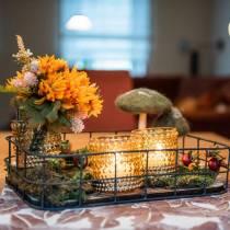 Mazzo di crisantemi Mix Orange 35cm