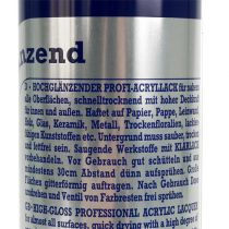vernice spray Argento metallizzato lucido 400ml
