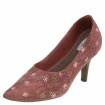 Scarpa per piantare scarpe deco marrone 24 cm × 8 cm H13,6 cm