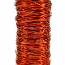 Filo decorativo smaltato arancione Ø0,30mm 30g / 50m