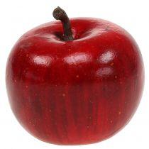 Mela decorativa rossa lucida 4,5 cm 12 pezzi
