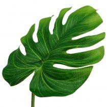 Foglio decorativo verde Philoblatt B11cm L29,5cm 3 pezzi
