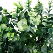 Ramo di eucalipto decorativo verde scuro Eucalipto artificiale Piante verdi artificiali