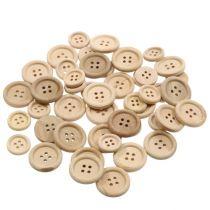 Bottoni decorativi natura 1,5 cm - 2,5 cm 150 pezzi