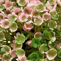 Palla decorativa rosa-verde Ø12cm 1p