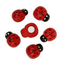 Coccinella decorativa per attaccare 1,5 cm rosso 360 pezzi