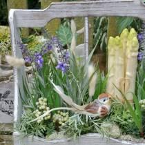 Pianta decorativa lavanda, vaso lavanda mediterranea, viola fiore artificiale