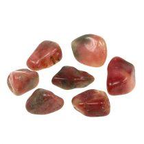 Pietre decorative rosa-crema lucide 4cm - 6cm 1kg