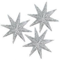 Stelle decorative argento Ø5cm 20 pezzi