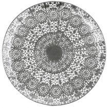 Piatto decorativo in argento con motivo Ø35cm