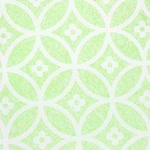 Tavolo decorativo con fiori verde chiaro 30 cm x 300 cm