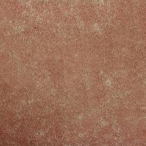 Pile decorativo 60 cm x 20 m marrone