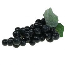 Uva decorativa nera 18 cm