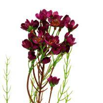 Ramo decorativo con fiori Erika 80cm 3 pezzi