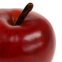 Rosso mela decorativo opaco 8 cm 1p