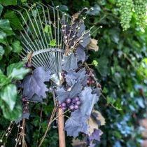 Ghirlanda decorativa foglie di vite e uva Ghirlanda autunnale 180cm