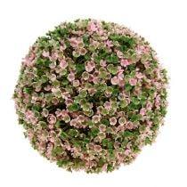 Palla decorativa rosa-verde Ø20cm