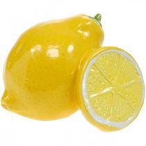 Deco limone ceramica decorazione estiva decorazione tavola 11cm