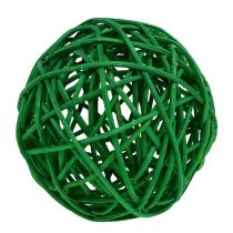 Sorta di palle decorative. Verde 7 cm 18 pezzi