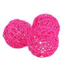 Decoball Pink 10cm 6 pezzi