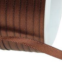 Nastro regalo marrone 6mm x 50m