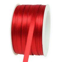 Nastro regalo e decorazione 6 mm x 50 m rosso chiaro