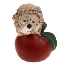 Riccio Figura da decorare su mela 7,5 cm in ceramica