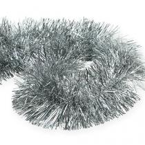 Tinsel ghirlanda argento 2m