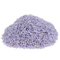 Granulato decorativo lilla 2mm - 3mm 2kg