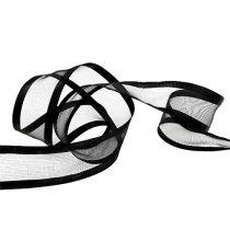 Cinturino decorativo nero 40mm 25m