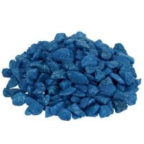 Pietre decorative 9mm - 13mm blu scuro 2kg