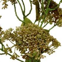 Deco branch Fetthenne Green 58cm