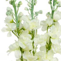 Delphinium bianco fiori artificiali di seta delphinium fiori artificiali 3 pezzi
