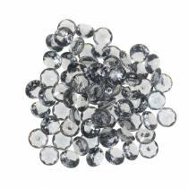 Pietre decorative diamante acrilico grigio Ø1,2 cm 175g decorazione gioielli