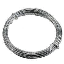 Filo di alluminio diamantato argento 2mm 10m