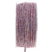 Filato stoppino Glamour Purple con filo 33m