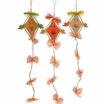 Drago decorazione autunnale per appendere 10,5 cm x 11 cm 6 pezzi