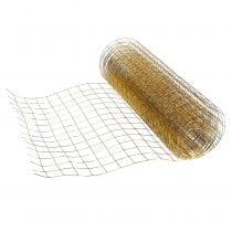 Rete metallica oro 35 cm 5 m