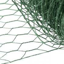 Rete esagonale filo verde Rete metallica rivestita in PVC 50cm × 10m