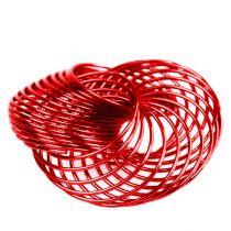 Ruote metalliche Rosso Ø4,5cm 6 pezzi