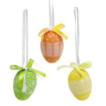 Appendere le uova in plastica 5 cm 27 pezzi