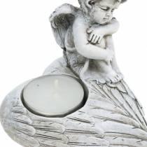 Decorazioni gravi Porta tealight angelo 10 cm 2 pezzi