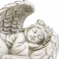 Angelo decorativo che dorme 18 cm x 8 cm x 10 cm