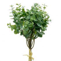 Ramo di eucalipto verde artificiale 37 cm 6 pezzi