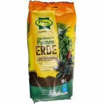 FRUX terreno per piante verdi e palma 18l