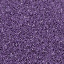 Sabbia colorata 0,5 mm di melanzane 2 kg