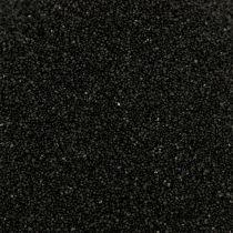 Colore sabbia 0,5 mm nero 2 kg