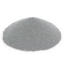 Colore sabbia 0,5 mm argento 2 kg